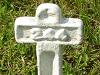 [Thumbnail: Grave marker at the French Cementery]