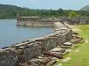 [Thumbnail: Battery of cannons at Portobelo]