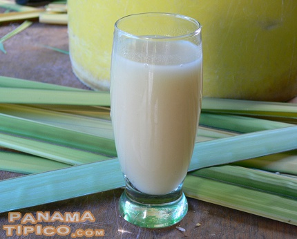 [A nice corn beverage is made with the water used for boiling the corn.]