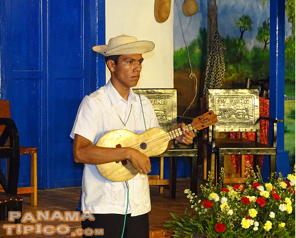 [One by one, the contestants masterfully played our national music instrument, the mejoranera.]