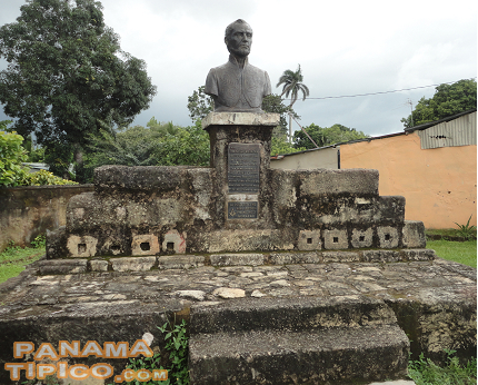 [A point of interest is the monument to Francisco Morazan, a leader of the Central American Independence movement. He lived in David for a time.]