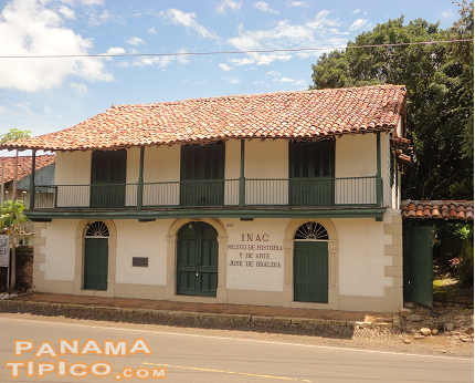 [On the main axis of the area, we can find the History and Art Museum Jose Domingo de Obaldia.]