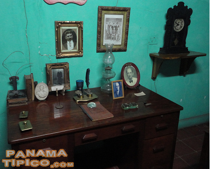 [This private museum also shows furniture and personal objects commonly found many decades ago in townhouses in David.]