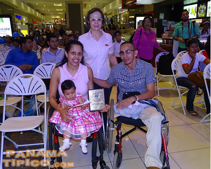 [Another paralympic athlete awarded by Melo was Desiree Aguilar.]