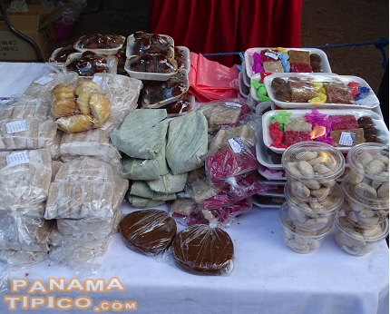 [Handmade traditional sweets, also a common product of the area, have a high demand in the fair.]
