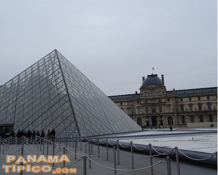 [Because of its rich collection, the Louvre Museum deserves, at least, a half day visit.]