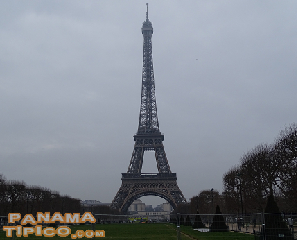 [The Eiffel Tower, the better known icon of Paris, could not be left out of a tour of the City of Light.]