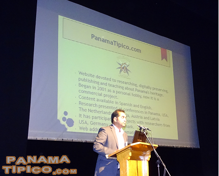 [At the conference, our Director, Marino Jaen Espinosa, presented a research paper.]
