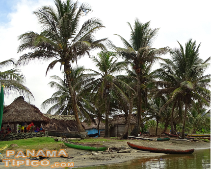 [The festival takes place at Armila, the last Kuna community in Kuna Yala, before Puerto Obaldia, La Miel and the border with Colombia.]