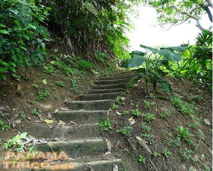 [The climb is steep, with 252 steps. A good physical condition is required to negotiate it.]
