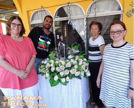 [Again, in 2017, researchers from Ashford University joined us in Panama. This time, the goal was to study the Patron Saint Festivity of Santo Domingo de Las Tablas.]
