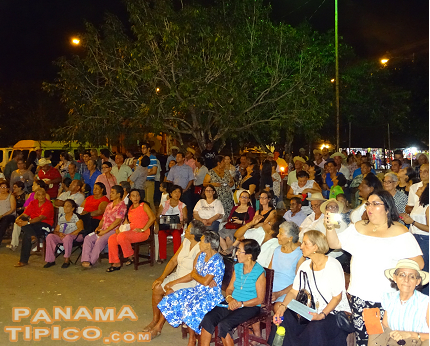 [Also, the team of researchers attended the traditional serenade in honor of Santo Domingo.]